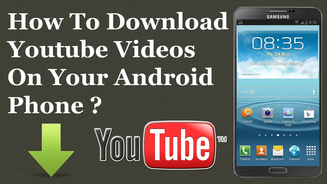YouTube Videos Download on Android