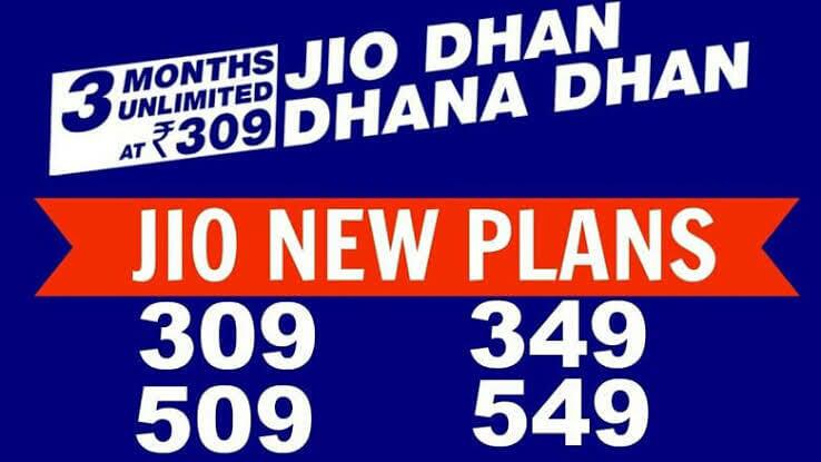 Jio Recharge Plan New